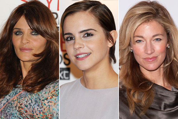 Helena Christensen Emma Watson Elaine Irwin