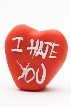 I Hate You heart