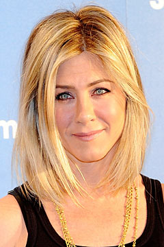 Jennifer Aniston shows off her new bob haircut. Photo: WireImage