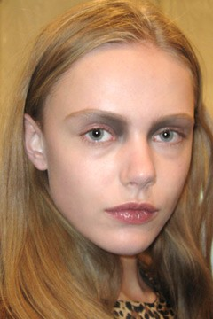 makeup prabal gurung fall 2011