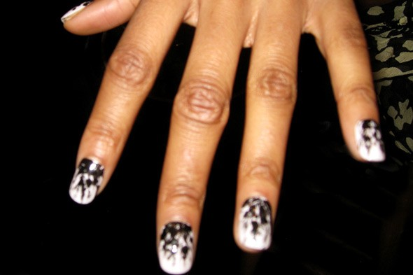 nails prabal gurung fall 2011