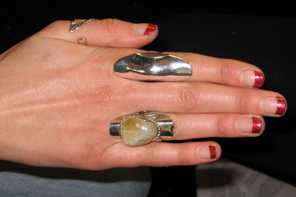 nails vivienne tam fall 2011