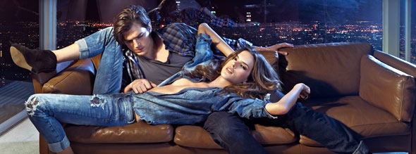 Alessandra Ambrosio and Ashton Kutcher