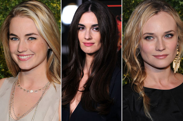 Celebrity Beauty Looks of the Day: Amanda Hearst, Paz Vega and Diane Kruger