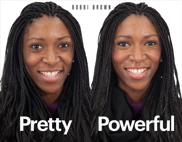 Bobbi Brown Corrector and Concealer Before and After Photos Dana Oliver