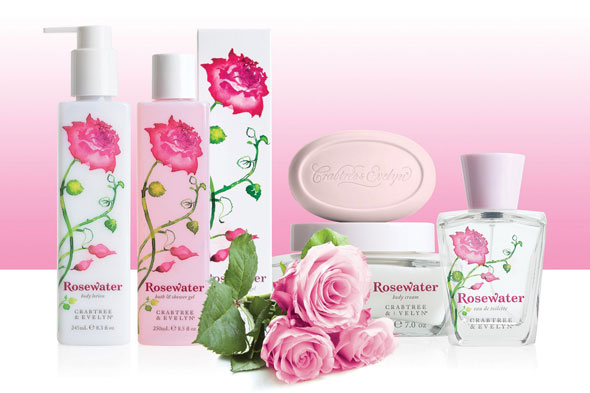 Crabtree & Evelyn Rosewater Fragrance Collection