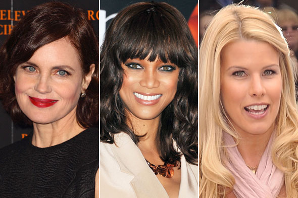 Celebrity Beauty Looks of the Day: Elizabeth McGovern, Tyra Banks and Beth Stern