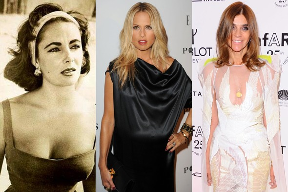 elizabeth taylor carine roitfeld rachel zoe fashion news week in review