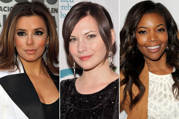 Celebrity Beauty Looks of the Day: Eva Longoria, Jill Flint and Gabrielle Union