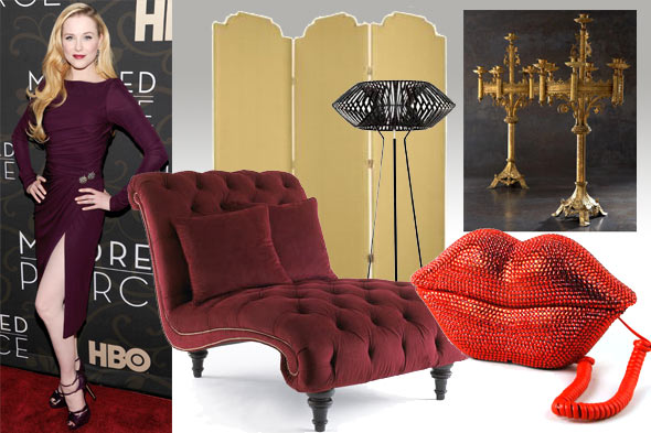 A Fashionable Room: Inspired by Evan Rachel Wood