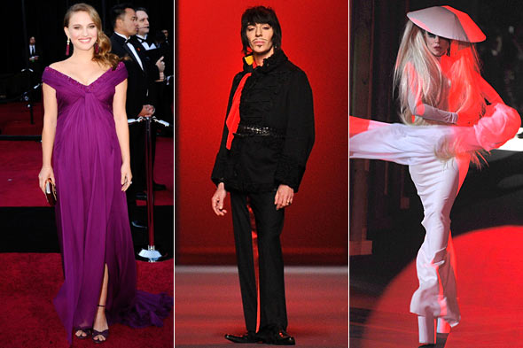 Week in Review Natalie Portman John Galliano Lady Gaga