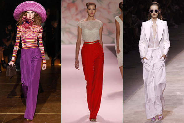 High Waisted Pants on Spring 2011 runways