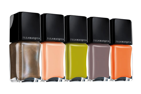 Illamasqua Toxic Nature nail polish collection