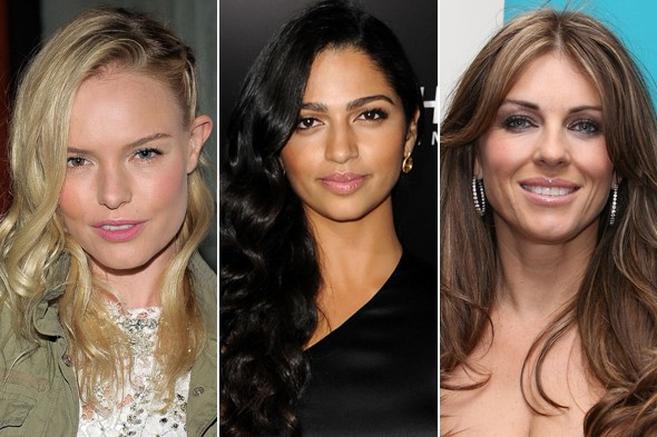 Celebrity Beauty Looks of the Day Kate Bosworth Camilla Alves Elizabeth Hurley