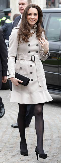 kate middleton trench coat