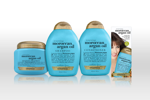 Organix Renewing Moroccan Argan Oil Collection