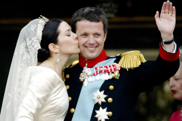 royal weddings crown prince frederick denmark