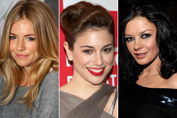 Celebrity Beauty Looks of the Day: Sienna Miller, Blanca Suarez and Catherine Zeta-Jones