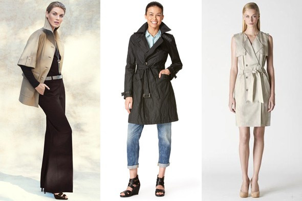 Trench Coats Spring 2011