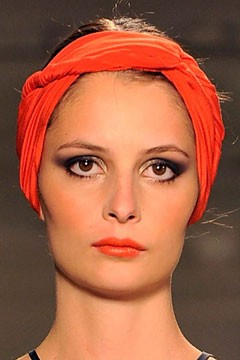 Scarf headband hair accessory Vena Cava Spring 2011