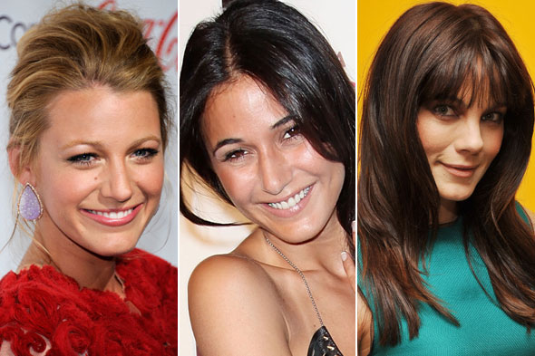 Celebrity Beauty Looks of the Day: Blake Lively, Emmanuelle Chriqui and Michelle Monaghan