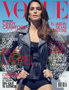 cindy crawford no pants vogue mexico