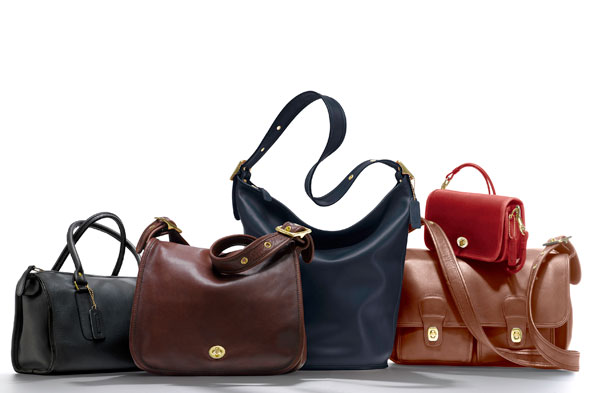 coach net-a-porter classic 70's handbags reissue collaboration