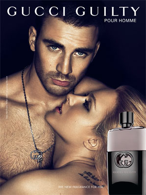 Gucci Guilty Pour Homme Ad Chris Evans Evan Rachel Wood