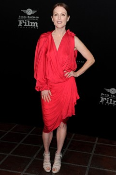 Santa Barbara Film Festival julianne moore lanvin red dress