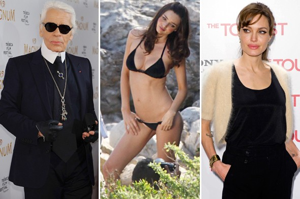 karl lagerfeld miranda kerr angelina jolie week in review