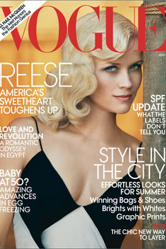 Reese Witherspoon Vogue May 2011
