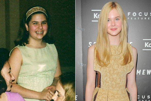 elle fanning rodarte sarah st. lifer 13 years old
