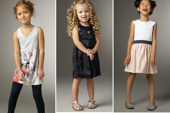 designer children's clothes, armani kids, marc kids