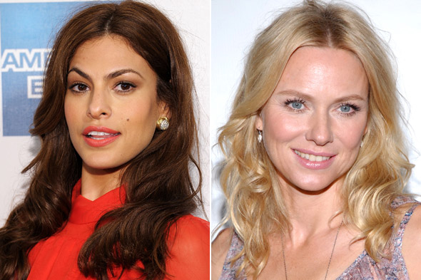 Eva Mendes Naomi Watts New Faces of Pantene