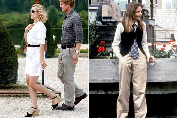 rachel mcadams midnight in paris annie hall diane keaton