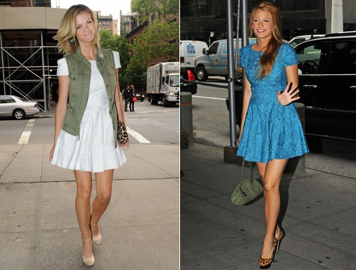 blake lively brooklyn decker tibi spring 2011 dress