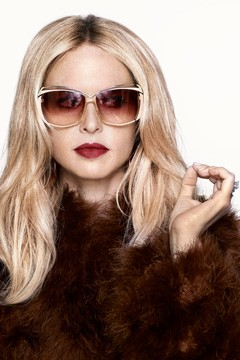 rachel zoe fur coat sunglasses