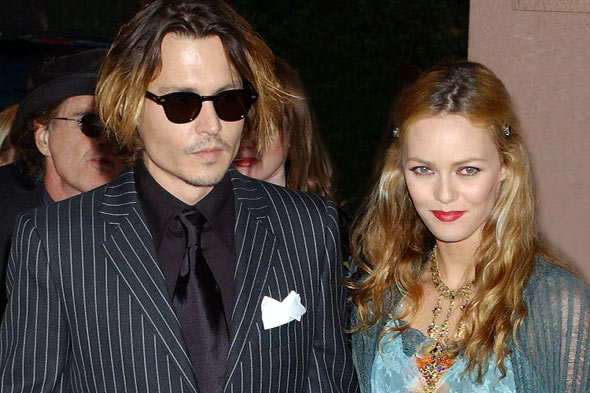 johnny depp banessa pradis girlfriend partner style evolution