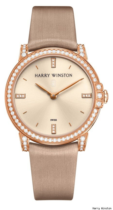 Harry Winston Midnight Midsize Diamond Watch