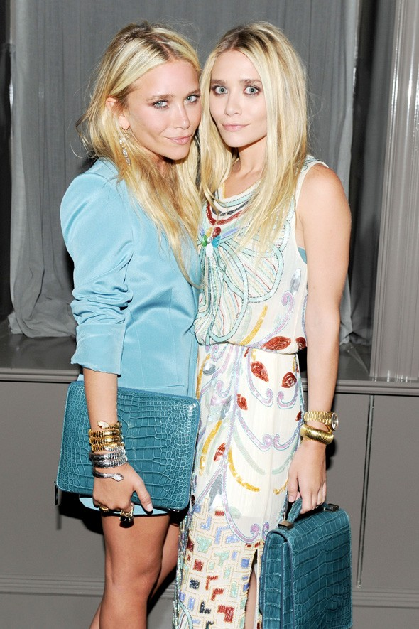 mary kate ashley olsen the row handbag collection launch barney ny
