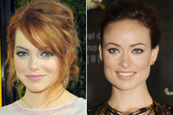 Emma Stone Olivia Wilde Revlon