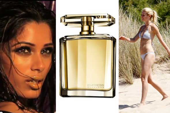 beauty news freida pinto l'oreal gwyneth paltrow sean john fragrance empress