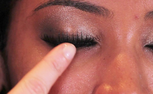 The gallery for --> Double Eyelashes Close Up