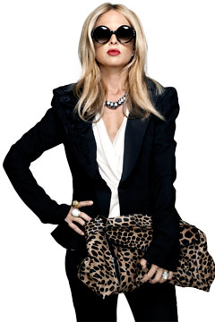 rachel zoe leopard clutch big sunglasses