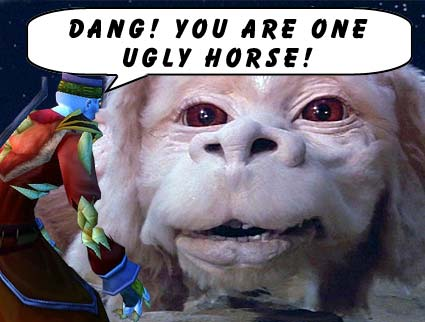Ugly Horse!