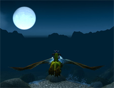 Night flight to Menethil