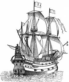Sailing Ship Rigging Schematics http://amw-art.pl/allegro/galleon-schematics