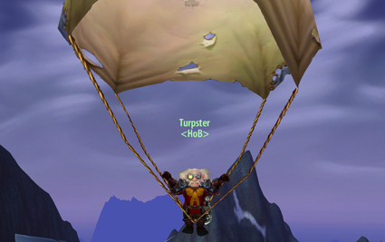 Gnomish made crotch-mounted parachutes - They've saved my ass from a beating more than once!