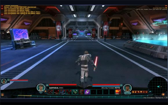 how to show interface swtor