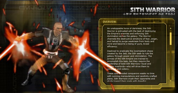 Swtor s sith warrior detailed cataloged